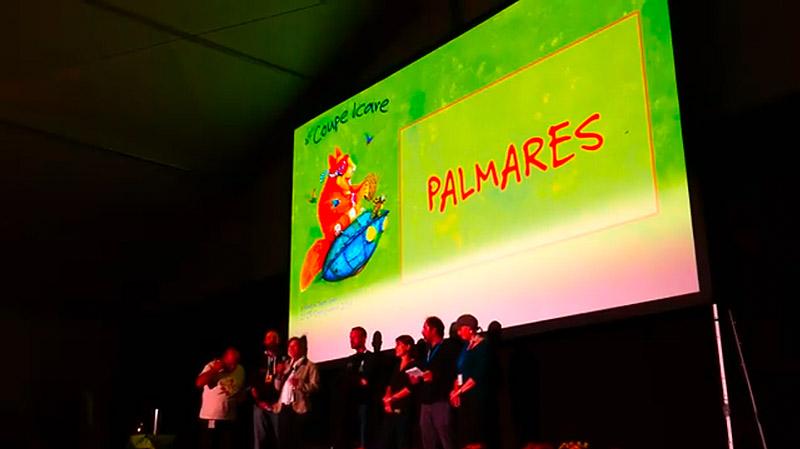 Zazak'Ailes est primé à la coupe Icare 2018 !